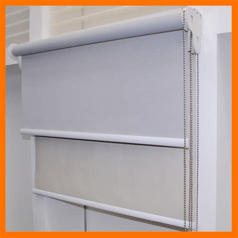 Day Night Double Blind Double Layer Day And Night Dual Roller Blind Blackout And