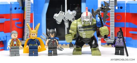 Lego Heroes 76088 Thor Vs Arena Clash review lego 76088 thor vs arena clash