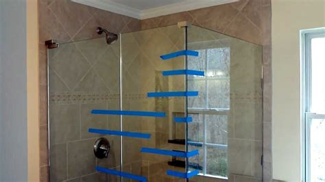 How To Install Glass Shower Doors Install Frameless Glass Doors For Tile Shower