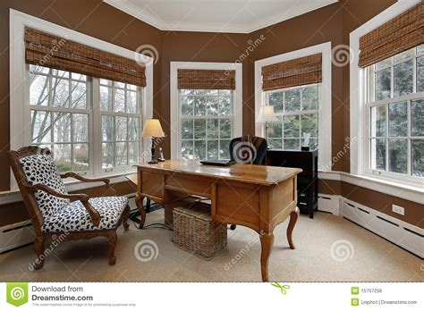 id馥 am駭agement bureau maison office in luxury home royalty free stock image image