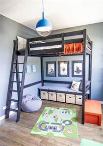 Bunk Bed With Space Underneath 30 Cool Loft Beds For Small Rooms Noted List