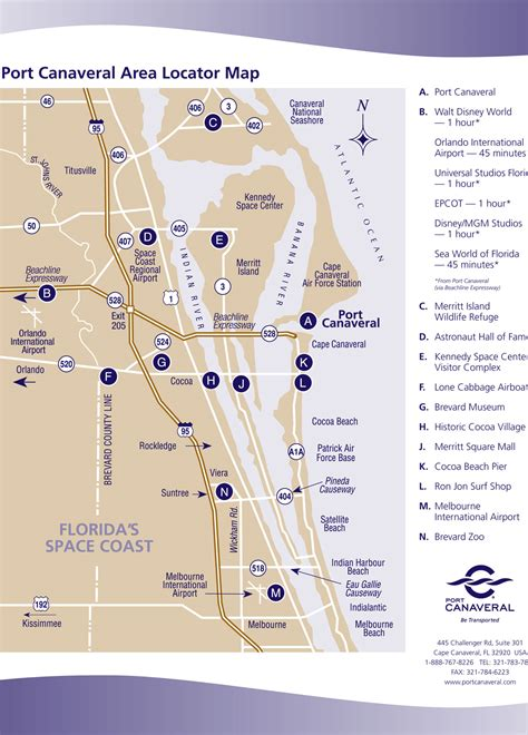 port canaveral map florida port canaveral cruises bahamas cruises from port canaveral