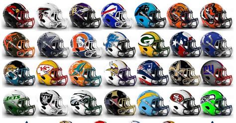 Home Theater Design Nyc by See It Graphic Designer Switches Up Look Of Nfl Helmets