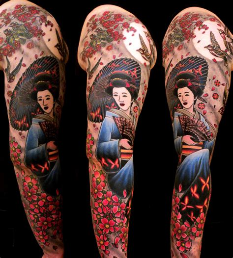 geisha tattoo full color geisha tattoos tattoo designs tattoo pictures page 3