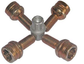 audi a2 magnesium felgen felgenschloss satz f 252 r radschrauben m12x1 5 kugelbund