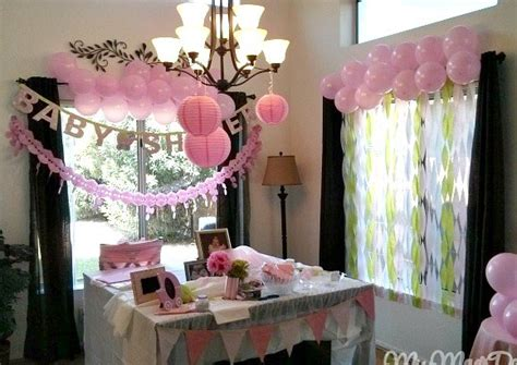 Decorating For A Baby Shower On A Budget by Baby Shower On A Budget Miss Mae S Days