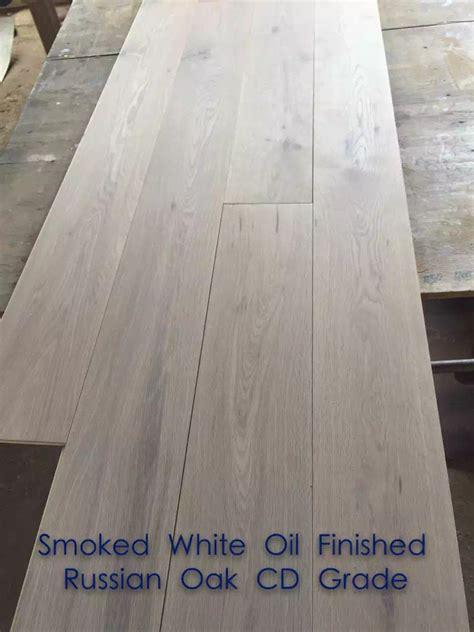 bleached white oak engineered timber flooring