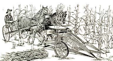 who invented the corn 25 agricultural on emaze