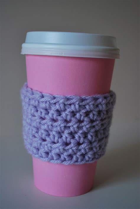 pattern coffee house quick crochet coffee sleeve pattern for madeleine s party