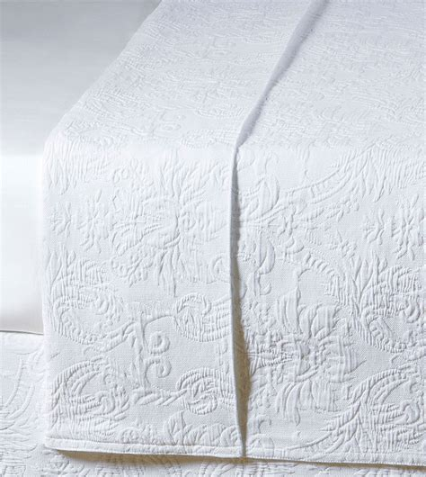 coverlet white luxury bedding by eastern accents sandrine white coverlet