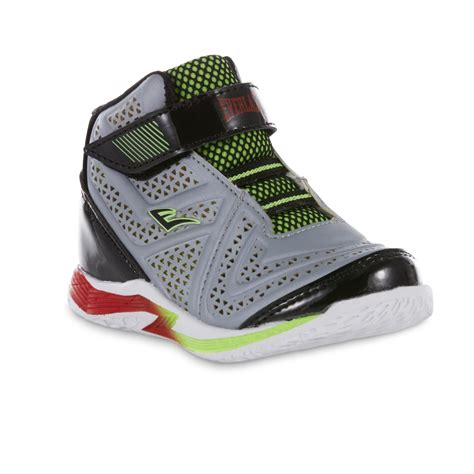 everlast basketball shoes everlast 174 toddler boys cayenne gray green high top
