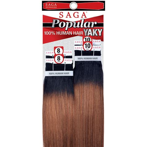 human hair enclosure popular yaky 4pcs saga 100 human hair yaky straight