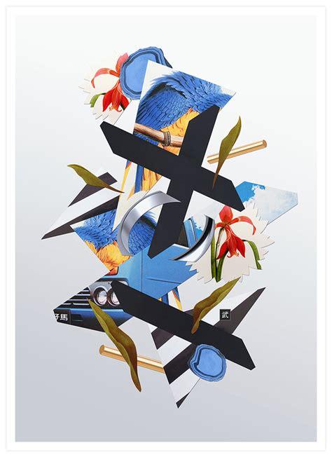 design inspiration collage inspiring artworks by takeshi abduzeedo design