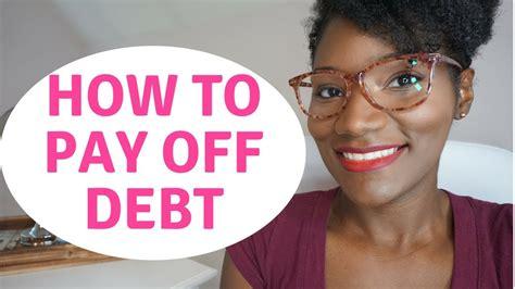 pay  debt  started  debt  living