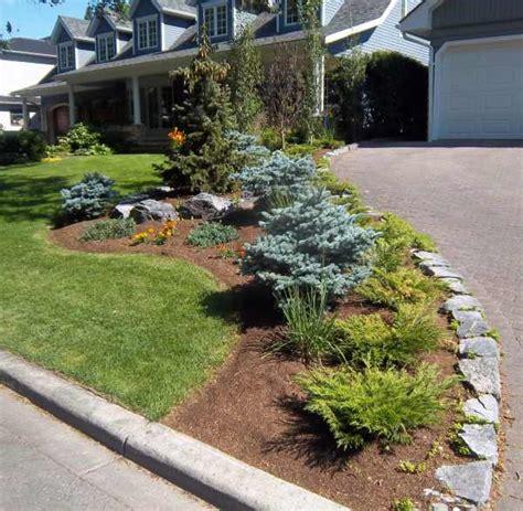 Driveway Garden Ideas Mockup