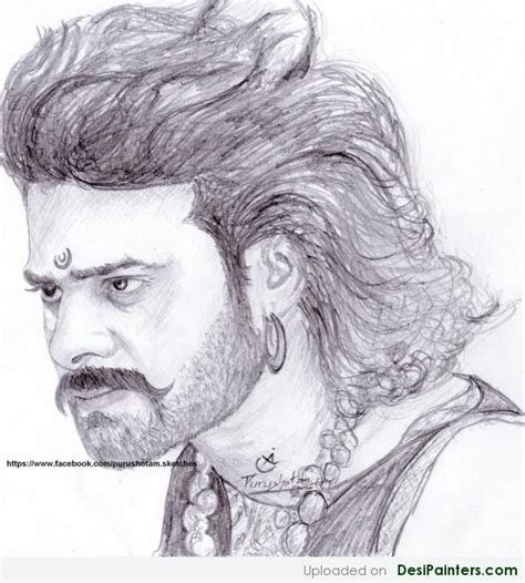 Bahubali 2 Sketches by Pencil Sketches