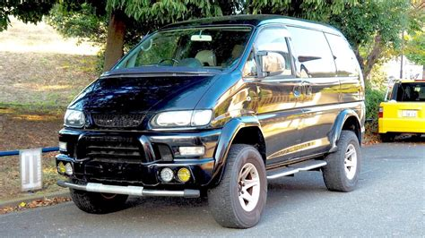 mitsubishi delica space gear review 2000 mitsubishi delica space gear lifted 4x4 minivan