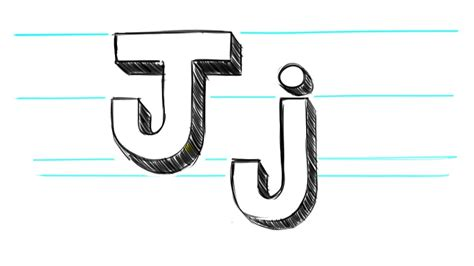 Letter J Drawing by How To Draw 3d Letter S Www Imgkid The Image Kid