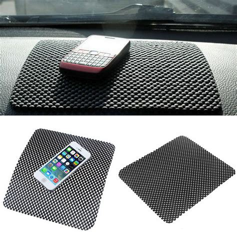 Car Anti Slip Mat Sticky Pad For Phone Gps Mp4 Mp3 Transpara car dashboard sticky pad mat anti non slip gadget mobile phone gps holder interior items