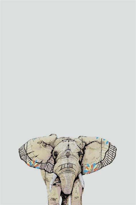 elephant pattern iphone wallpaper elephant wallpapers for iphone group 62