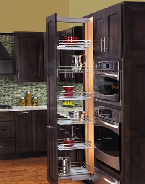 Kitchen Cabinet Pull Out Storage Rev A Shelf Kitchen And Bathroom Organization Kitchen Design Renovation