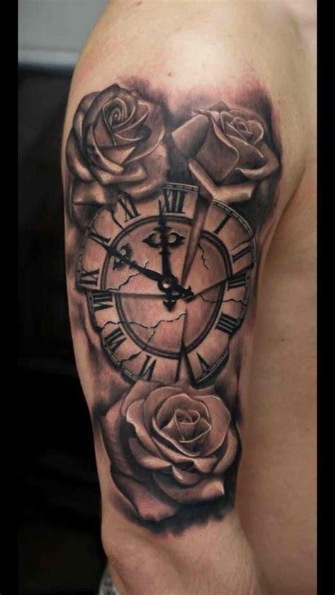 pintrest tattoos portfolio tatoo time forearm clock