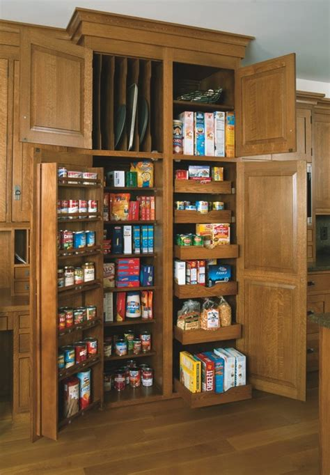 custom kitchen pantry cabinet 8 small pantries that are big on storage