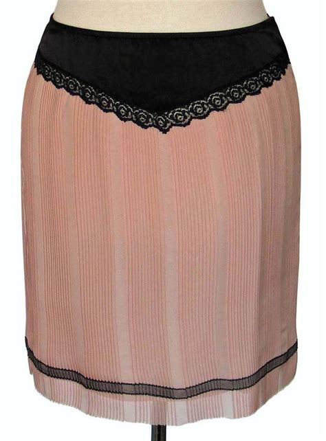 Ksp326 Kain Satin Kekuningan Uk 25 M X Lebar Kain T2709 marc runway pink black pleated silk slip skirt 30 inch waist nwt ebay