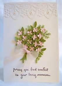 condolences card paper in the pines sympathy cards