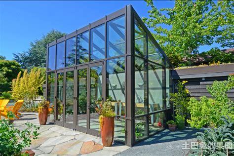 modern green house plans 庭院露台阳光房效果图 土巴兔装修效果图