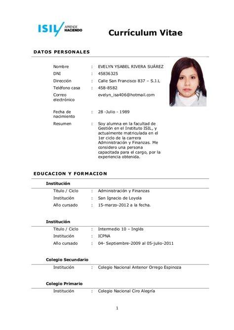 Detailed Curriculum Vitae by Curriculum Vitae En Blanco Newhairstylesformen2014