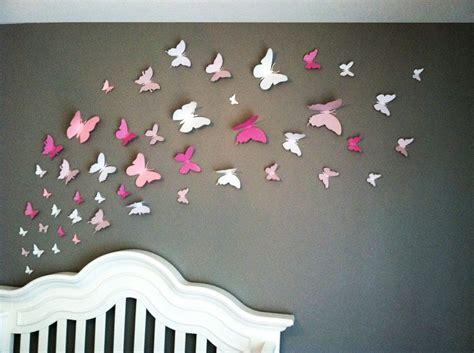art review pattern and decoration wall art ideas design three dimensional butterflies wall
