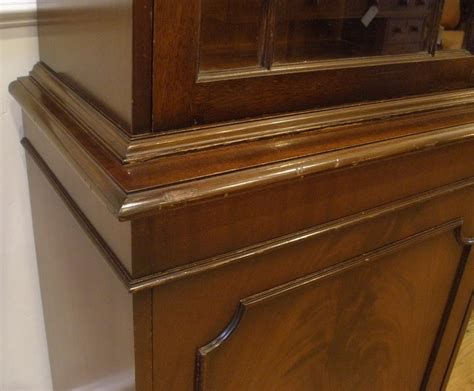 antique curio cabinets for sale vintage english flame mahogany small curio cabinet