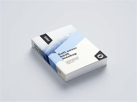 softcover book mockup set mockup world hq