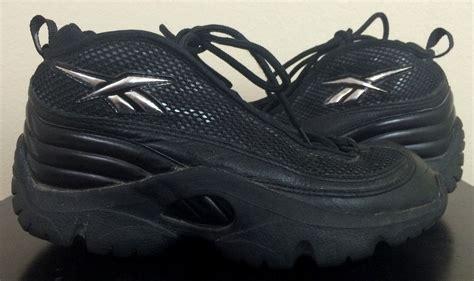 shawn kemp basketball shoes vintage reebok quot reignman ii quot 2 shawn kemp black 1997