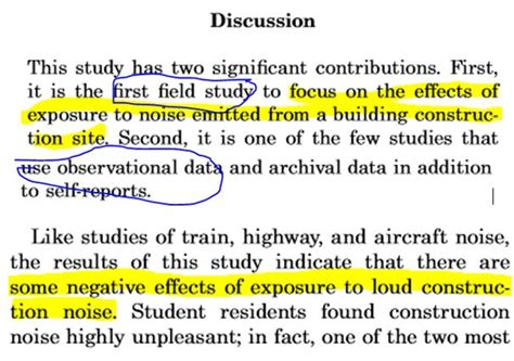 writing a discussion section of a research paper land arch research report components