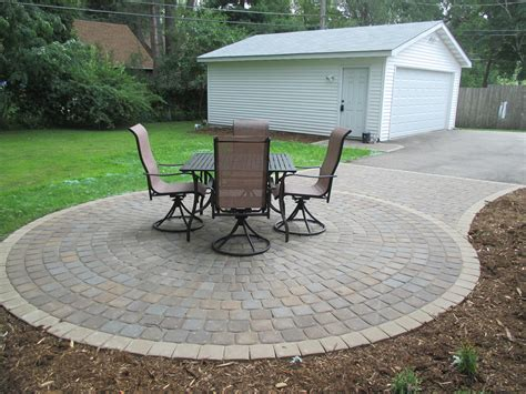 Patio Pavers Kingston Anchor Kingston Circular Paver Patio Northwoods Color