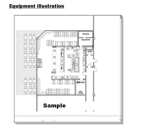 layout of kfc kfc floor plan meze blog