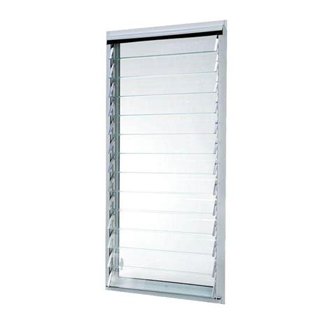 jalousie 75 x 200 tafco windows 15 75 in x 7 75 in hopper vent screen