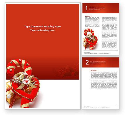 microsoft templates for word christmas christmas candies word template 02854 poweredtemplate com
