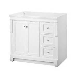 foremost nawa3621d naples 36 inch width x 21 inch depth