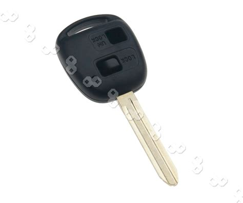 Toyota Yaris Remote Key Battery Replacement Of 2 Button Remote Key Fob Shell For Toyota