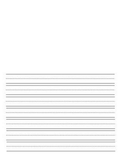 lined writing paper with picture space lined writing paper for with space for an