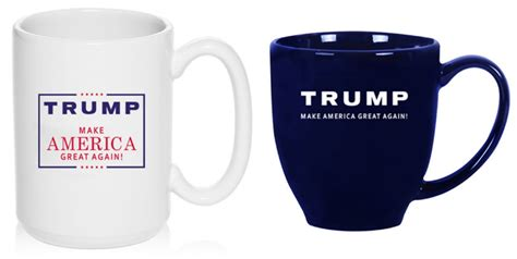 donald trump gifts trump vs clinton how the design of their merchandise