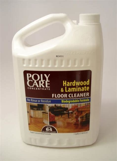 Hardwood Floor Care Absolute Coatings Polycare Hardwood Floor Cleaner Concentrate Gallon Chicago Hardwood Flooring