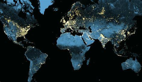 earth light map exploring earth at nat geo education