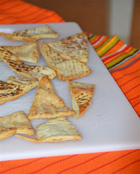 Pita Handmade - simple pita chips recipe dishmaps