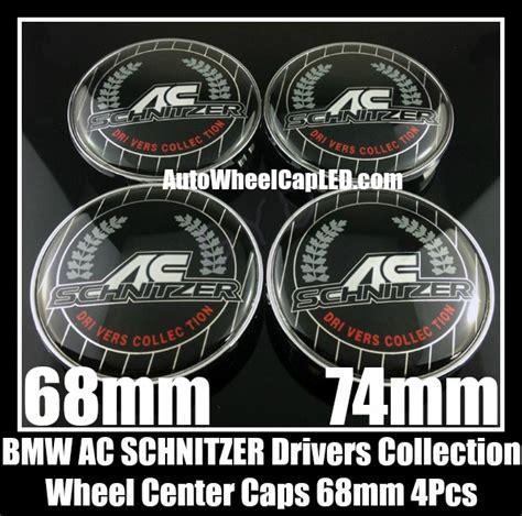 Emblem Bmw Ac Schnitzer Silver Velg Center 68mm 3d bmw ac schnitzer drivers collection wheel center hubs caps roundels 4pcs emblems badges