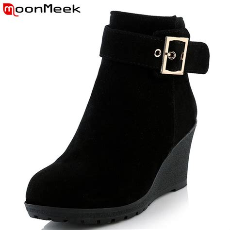 winter boots for sale new arrive sale high heels wedges winter boots fashion