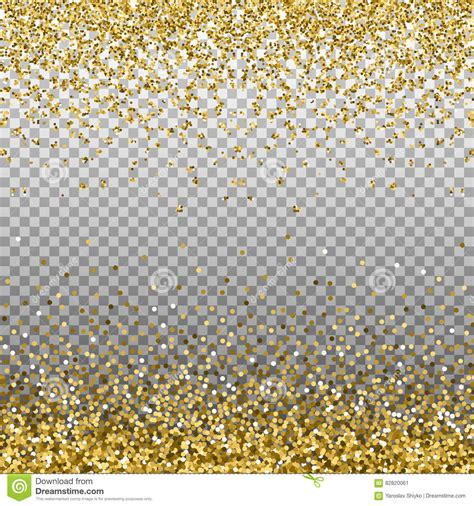 gold glitter background golden sparkles on border